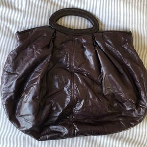 Marni Maroon Balloon Bag